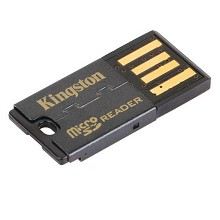 金士顿(Kingston)FCR-MRG2 USB 2.0 TF Micro SD 读卡器