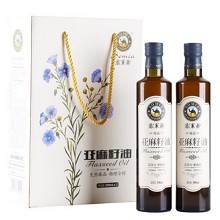 Somia Flaxseed Oil 尚品 礼盒 500ml*2瓶