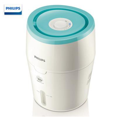 飛利浦(PHILIPS)HU4801/00 加濕器 靜音家用母嬰空氣加濕 納米無霧 便捷加水 白色